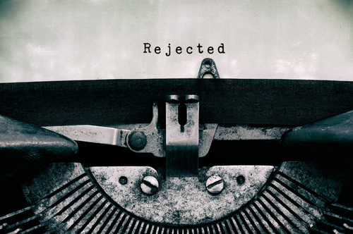 agent rejection, slush rejection, types of rejection, query rejection, slush pile